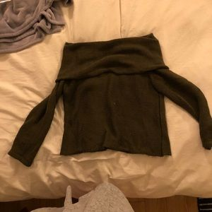 Off the shoulder LF sweater